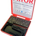 Imperial Series Type Sets without Type Holder - Sharp Faced Type - .04
