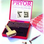 Low Ministress Type Sets including Type Holder - Dot Faced Type - 1/8